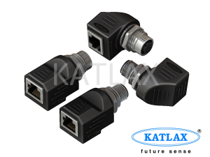 M12 to RJ45 ETHERNET CONNECTOR